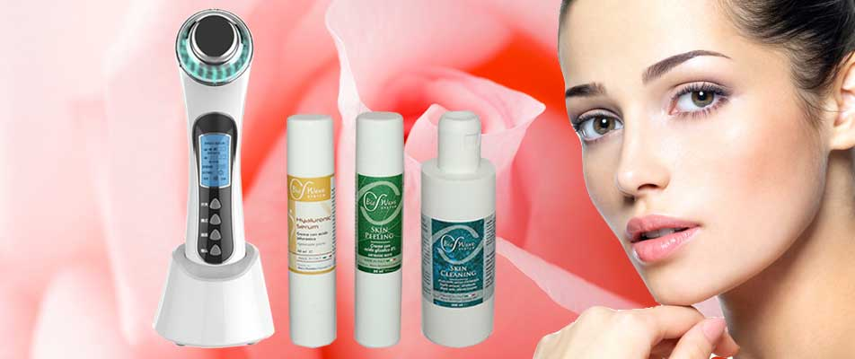 Biowave Face Lifter con set biocosmetici